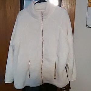 Off white Sherpa jacket